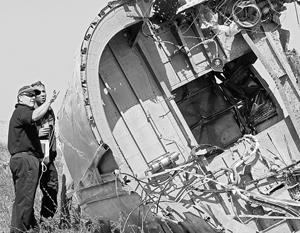 По мнению эксперта, определенные части самолета могли быть уничтожены или спрятаны