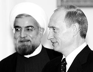 Первый раз Путин встретился с Роухани в 2005 году в Кремле, но тогда гость еще не был президентом