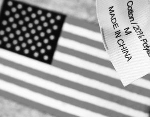 В отличие от США, Китай продвигает по всему миру свои товары, ему есть что предложить