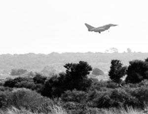 Британские Hawker Typhoon были готовы перехватить сирийские самолеты