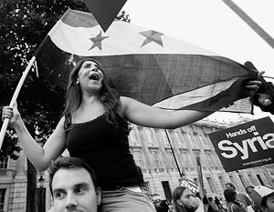 Пока еще молчат пушки, громкие крики звучат на антивоенной манифестации в центре Лондона