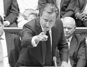 Чтобы атаковать Сирию, Дэвид Кэмерон вынужден был сперва атаковать оппозицию в парламенте, но его атака захлебнулась