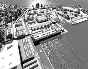 Сейчас на заводе «Звезда» ремонтируют атомные подводные лодки, но к 2018 году он должен стать крупнейшей гражданской верфью страны