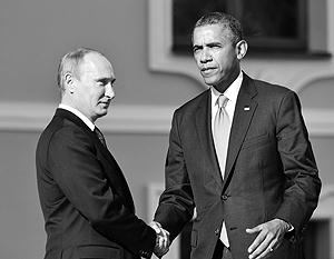 Владимир Путин и Барак Обама переговорили впервые после размолвки из-за Сноудена и Сирии