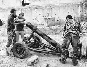 В химическом снаряде под Алеппо был использован гексоген, который, по мнению экспертов, могли применить только партизаны
