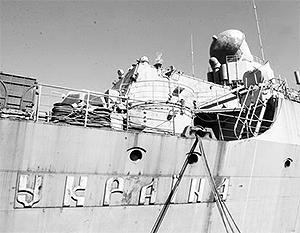 Крейсер «Украина», по утверждению Януковича, готов на 95%