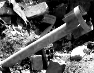 На сохранившейся части одной из ракет можно прочесть маркировку «Г ИШ4 25-67-179К»