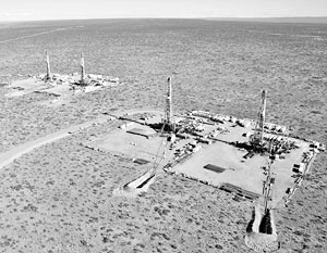 Разработка участков месторождения сланцевой нефти