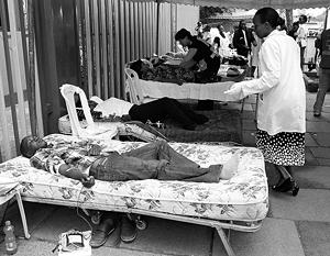 В результате теракта ранения получили около 200 человек