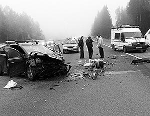 По официальным данным, за предыдущие годы действия правительственной программы смертность на дорогах России существенно упала