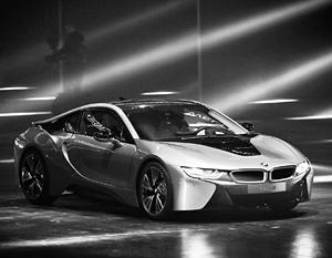 Экологичный спорткар BMW i8 hybrid