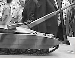Так, предположительно, выглядит модель нового танка