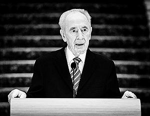Эксперты считают, что Шимон Перес за свои слова не отвечает последние лет 25