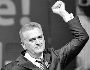 Лидер Сербской радикальной партии Томислав Николич