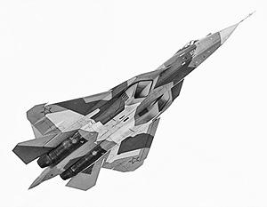 Новейший истребитель фирмы «Сухой» Т-50