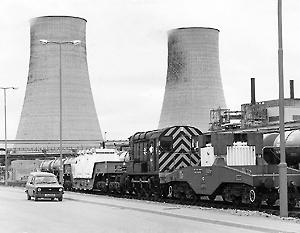 Первая АЭС Великобритании Calder Hall