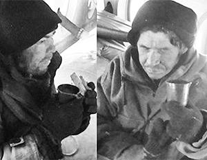 Рыбаки долгое время скитались по тайге в поисках пищи