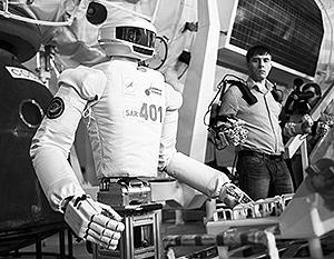 Срок запуска робота-космонавта на орбиту пока неизвестен, специалисты еще продолжают исследования