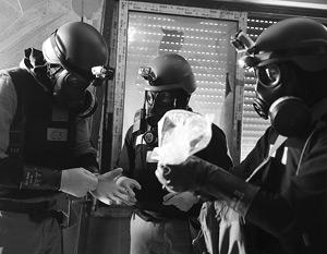 США взяли на себя ликвидацию «приоритетных химвеществ»