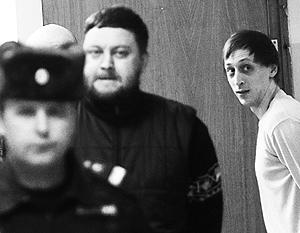 Осужденные за нападение Юрий Заруцкий и артист Павел Дмитриченко