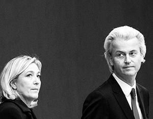 Марин Ле Пен и Герт Вилдерс уже объявили об объединении в рамках борьбы с «брюссельским монстром»