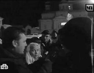 В связи с убийством молодого человека на улицы Арзамаса вышли около 50 человек