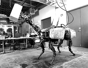 Робот фирмы Boston Dynamics «Большой пес»