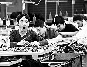 Китай столкнулся с нехваткой дешевых рабочих рук