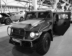 Бронеавтомобиль «Тигр» в цеху Арзамасского машиностроительного завода