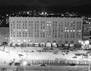 Новогодняя вечеринка проходила в гостинице «Меридиан»