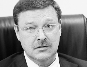 Косачев полагает, что Евромайдан заполнила молодежь, успевшая поучиться на Западе