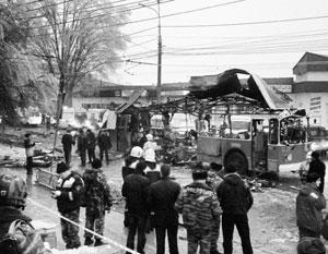 Второй за сутки взрыв в Волгограде произошел в троллейбусе в час пик
