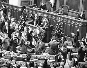 Верховная рада проголосовала за скандальные законы вручную и без обсуждения