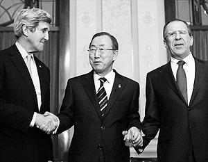 Формально стороны сошлись на том, что текущая конференция имеет реальный шанс на установление мира в Сирии