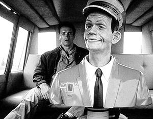 Робот-таксист из фильма «Вспомнить все»