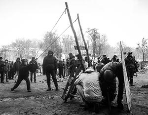 Самодельное оружие на Майдане: возможно, это только начало настоящей вооруженной борьбы