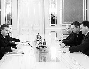 Предложение Виктора Януковича сильно озадачило лидеров оппозиции