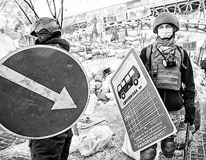 Как показывают замеры общественного мнения, россияне воспринимают волнения на Майдане просто как хаос
