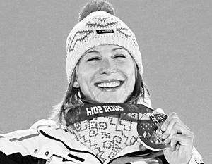 Анастасия Кузьмина, олимпийская чемпионка по биатлону из Тюмени, принесла первую медаль для сборной Словакии