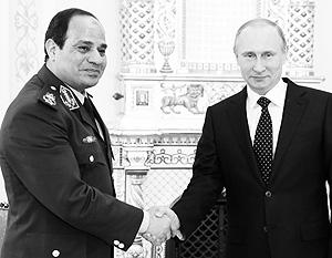 Путин узнал о намерении ас-Сиси стать его египетским коллегой еще до того, как фельдмаршал объявил об этом официально