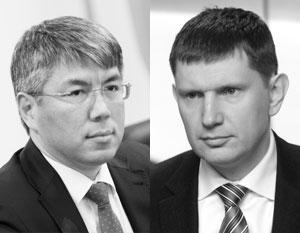 Новую систему отбора уже прошли Алексей Цыденов (слева) и Максим Решетников, получившие на днях назначения в Бурятию и Пермский край