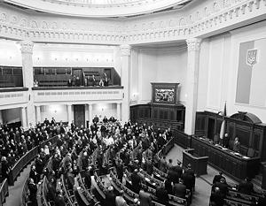 Для получения денег Верховной раде предстоит избрать правительство