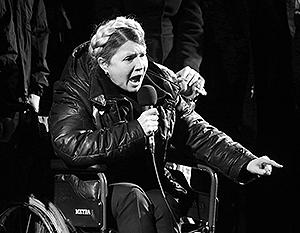 Тимошенко заявила о своих президентских амбициях