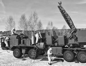 «Самарканд» – комплекс РЭБ высшего звена, способный подавлять радиоэлектронные средства объединенных командований противника, полагают эксперты