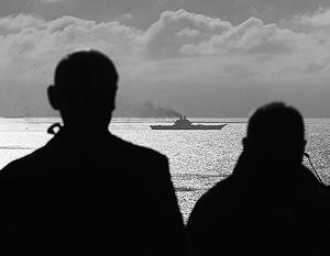 Автономность «Адмирала Кузнецова» достигает 45 суток, что позволяет ему доплыть до Сирии без дозаправки в портах