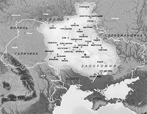 Территория Гетманщины была значительно меньше, чем территория современной Украины, но националисты все равно тоскуют по землям, которые не попали в состав УССР