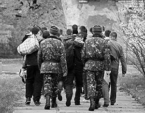 Состояние украинской армии до того плачевно, что мирное решение кризиса, по мнению профессиональных военных, является единственно возможным