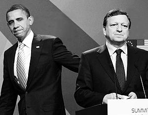 Барак Обама расскажет главе Еврокомиссии Баррозу про будущее партнерство ЕС и США