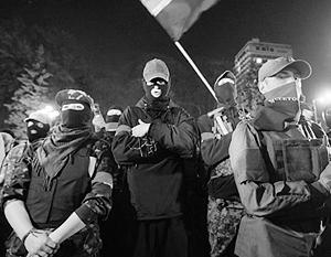 Боевики «Правого сектора» готовы к новой «революции»