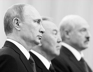 Путин, Назарбаев и Лукашенко создали новый центр экономического и геополитического притяжения